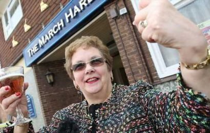 Landlady pulls last pint after calling time on 61-year career in same pub
