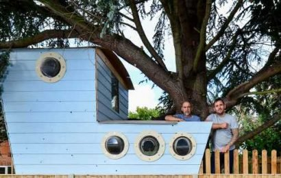 Treehouse could be torn down because it doesn't have planning permission