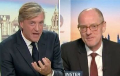 ITV GMB: 'Waste of time' Richard Madeley in furious tirade as Nick Gibb dodges questions