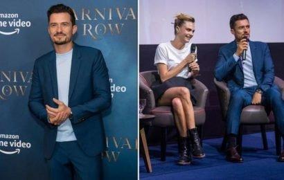 Carnival Row: Rycroft star Orlando Bloom speaks out on 'awkward' sex scenes