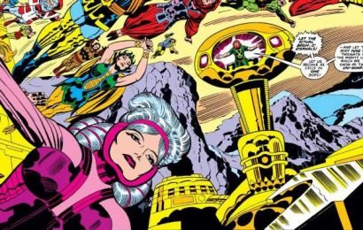 Marvel releases first look at the Celestials in The Eternals movie