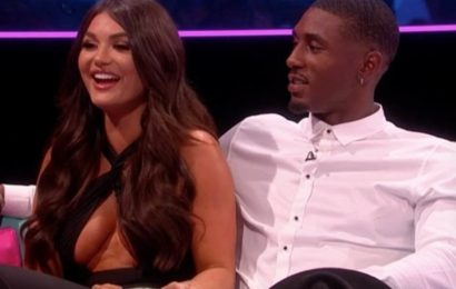 Love Island's India rocks eye-popping dress as she and Ovie drop relationship bombshell