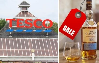 Tesco slashes £10.50 on award-winning whisky brand – but shoppers must be quick