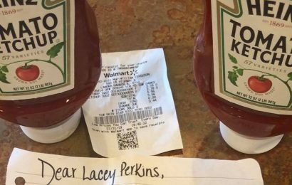 Ketchup thief has massive change of heart after karma deals several disasters