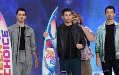 The Jonas Brothers Share an Inspiring Message as They Accept Decade Award at the TCAs