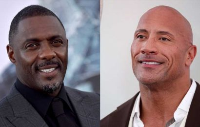 We Really Wish We Had Seen the 'Sexiest Man Alive' Spat Between Dwayne Johnson & Idris Elba