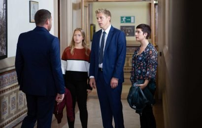 Emmerdale spoilers: Robert Sugden faces life in prison as sister Victoria refuses to lie for him over attacking rapist Lee