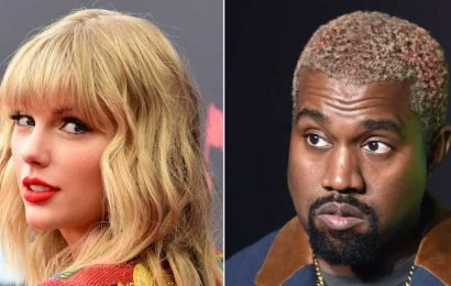 Did You Miss It? Watch Taylor Swift Take a Slight Dig at Kanye West