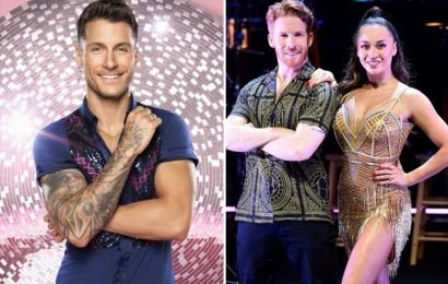 Strictly's Gorka Marquez has been 'demoted' in favour of newly-single Neil Jones