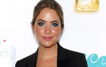 Ashley Benson Promotes Cosmopolitan's New Fragrance 'Eau de Juice'