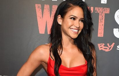 Cassie Bares All In Stunning, First Baby Bump Photo Shoot On The Beach — See Revealing Pic