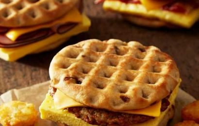 Burger King Just Launched 3 Maple WAFFLE Sandwiches
