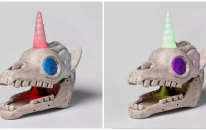 Target Is Selling Light-Up Unicorn Skulls Just In Time For Halloween