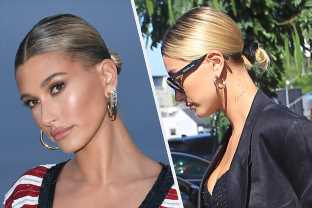 Hailey Bieber Got A New Neck Tattoo In Preparation For Her Wedding