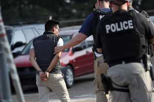 Hundreds Of Their Employees Were Arrested In An ICE Raid. They Went Home Without A Charge.