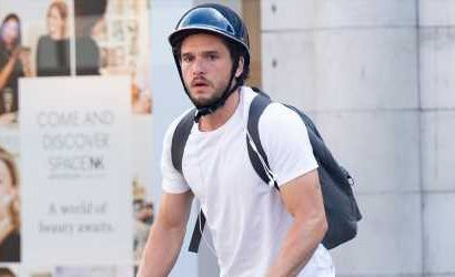Kit Harington Heads Out for a Bike Ride After Being Announced as Marvel's Black Knight!