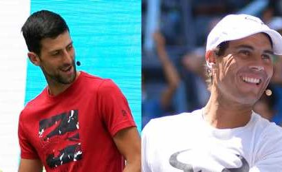 Novak Djokovic & Rafael Nadal Kick Off U.S. Open at Arthur Ashe Kids' Day!