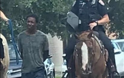 Texas Police Apologize After Officers Lead A Black Man Through The Streets By Rope