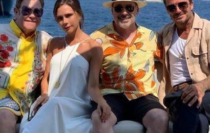 Inside David, Victoria Beckham's Luxurious Vacation With Elton John