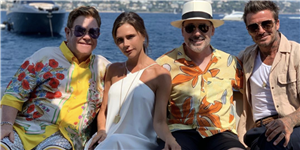 Victoria and David Beckham Live Their Best Lives on a Yacht with Elton John and David Furnish