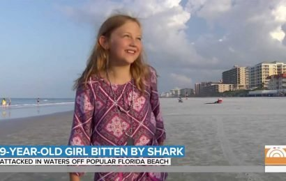 9-Year-Old Girl Survives Shark Attack in Florida — and Says She'll Return to the Water