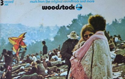 Lovey dovey: Woodstock LP's iconic couple still has a groovy thing goin'