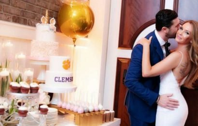 One woman had an unexpected gift for her fiance's birthday — a surprise wedding