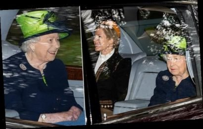 Queen attends Sunday church service at Balmoral with Autumn Phillips