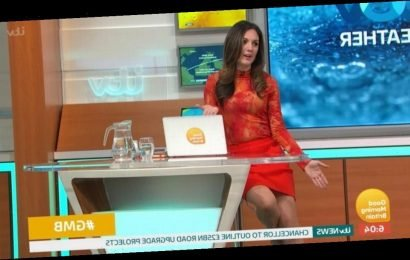 Piers Morgan teases GMB's Laura Tobin about massaging her 'bottle white' legs