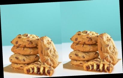 Cinnabon Is Selling Chocolate Chip Cookies Stuffed With BonBites