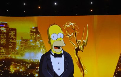 Homer Simpson hosts the Emmys in the awards' most bizarre opening ever