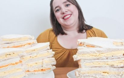 Mum-of-two with 'fear of food' lived off cheese sandwiches for almost 30 years