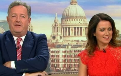 Piers Morgan loses temper with 'laughing' Nicola Sturgeon as he returns to GMB