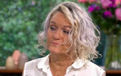 Brave Alison Lapper breaks down in tears over 'living hell' of son's death