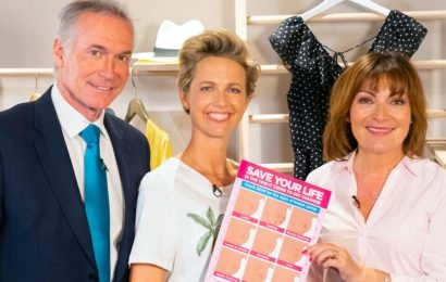 ITVs Lorraine Kelly joins Boob Bus in a bid to save lives