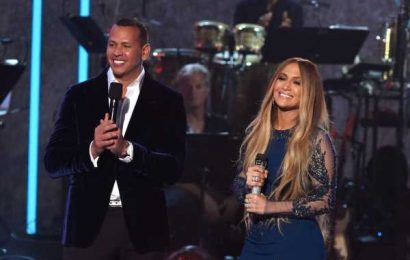 All The Best Jennifer Lopez & Alex Rodriguez Moments, From The VMAs To Their Engagement