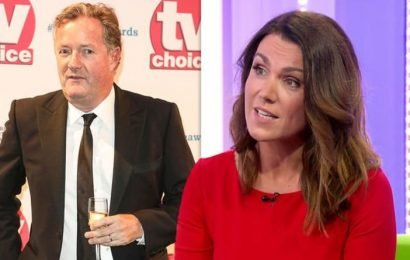 Piers Morgan on Susanna Reid: 'If we were both single we'd be at it like stoats in a sack'