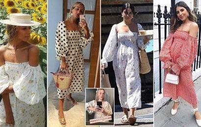 Sleeper hailed 'It' summer brand as celebs snap up its linen dress