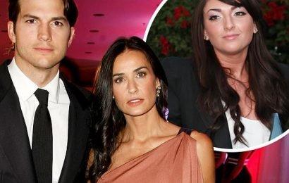 Demi Moore 'writes Ashton Kutcher cheated and they had threesomes'