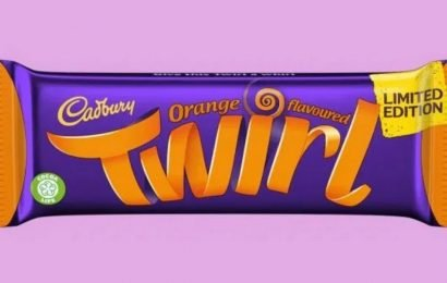 Cadbury release new limited edition Twirl Orange bar – and it's on sale now!