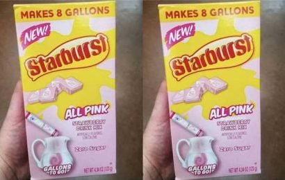 You Can Have The Pink Starburst In Drink Form Now