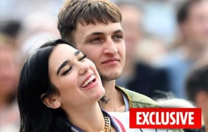 Dua Lipa and Anwar Hadid move in together after just two and a half months as a couple – The Sun