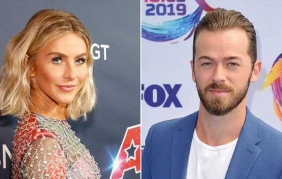 Julianne Hough Reacts to Artem Chigvintsev Not Returning to 'DWTS'