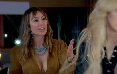 RHOC's Kelly Hits Gina During Fight Over Shannon: 'Don't F–king Touch Me'