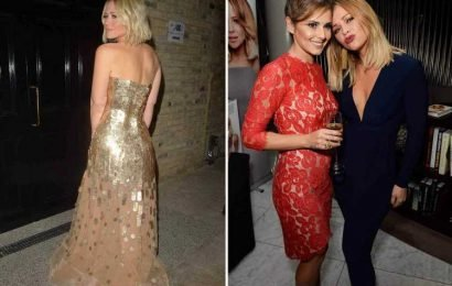 Cheryl is obsessed with Kimberley Walsh's bum – and likes to 'squeeze and pat it'