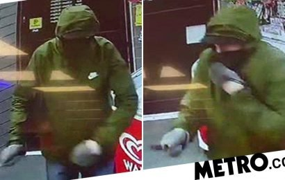 Armed robber scared off by little girl who threw bread at him