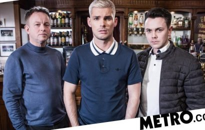 Hollyoaks' Kieron Richardson hints Ste Hay will 'put a stop' to far-right attack