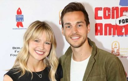 Melissa Benoist & Chris Wood Perform Together at Concert for America!