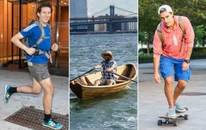 Boats, boards and marathons: NYC's craziest commutes