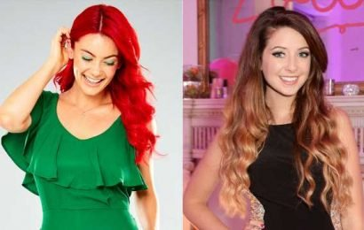 Strictly's Dianne Buswell reveals close bond with Joe Sugg's sister Zoella